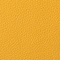 Mustard leather swatch
