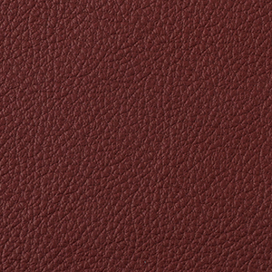 Cherry leather swatch