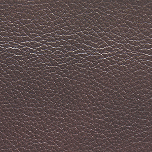 Mahogany leather swatch