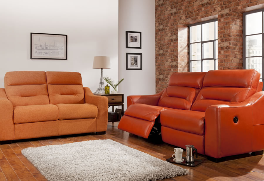 Tara range featuring recliners, sofas and chairs