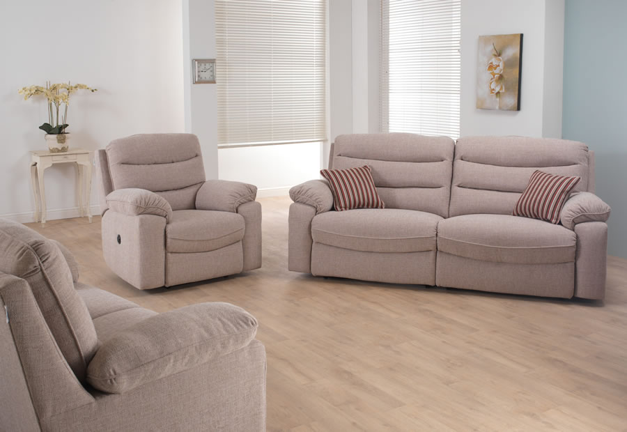 Anna range featuring recliners, sofas and chairs