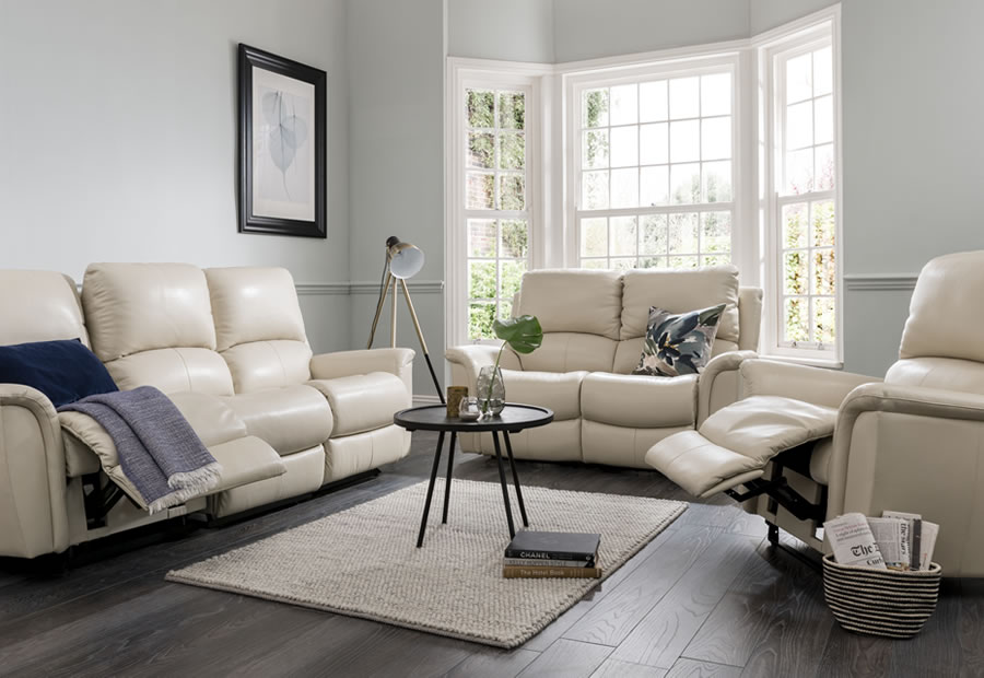 Kennedy range featuring recliners, sofas and chairs