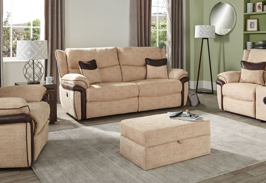 Celebration range featuring recliners, sofas and chairs