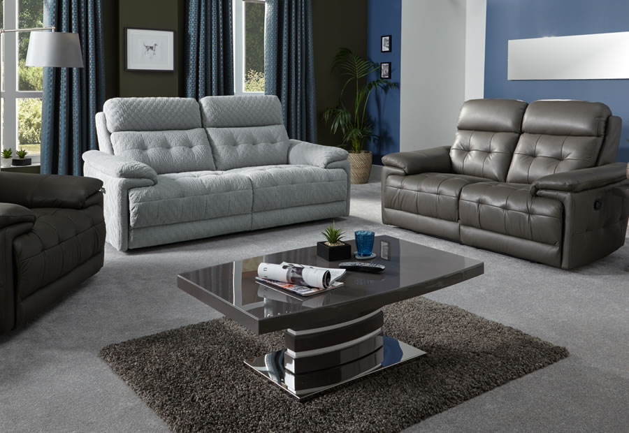 Rockville range featuring recliners, sofas and chairs