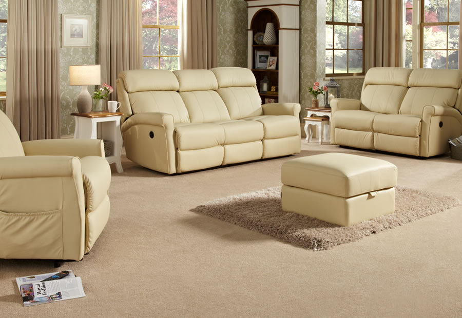 Orleans range featuring recliners, sofas and chairs