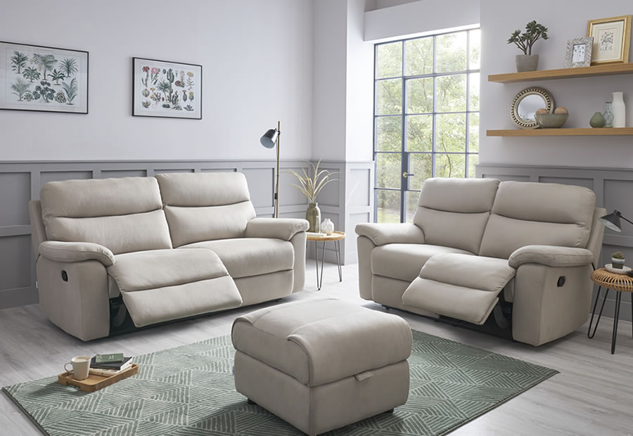 Canterbury range featuring recliners, sofas and chairs