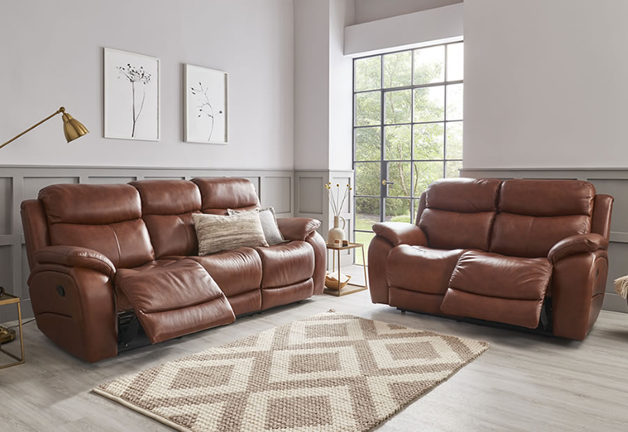 Ely range featuring recliners, sofas and chairs