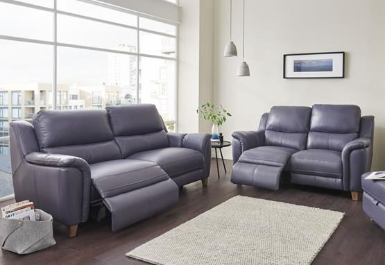 Vienna range featuring recliners, sofas and chairs