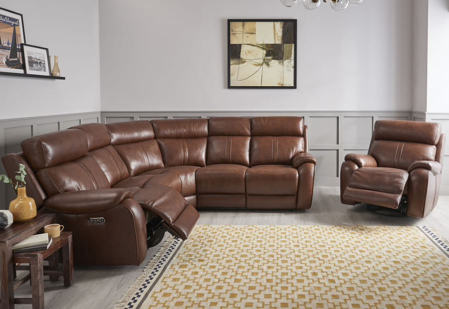 Winchester range featuring recliners, sofas and chairs