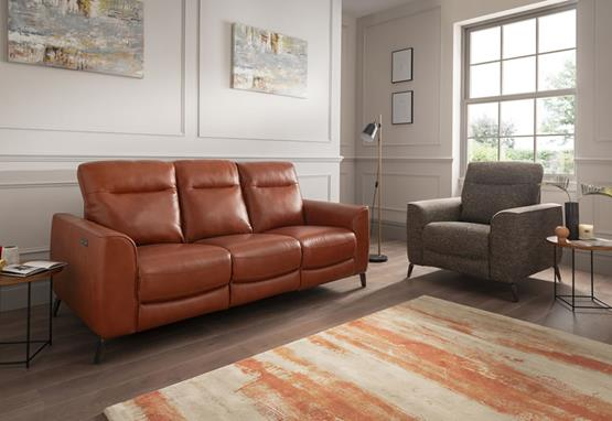 Connor range featuring recliners, sofas and chairs