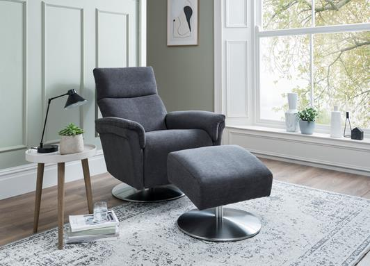 Trina range featuring recliners, sofas and chairs