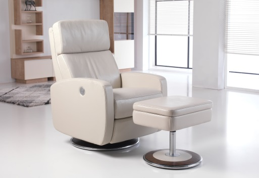 Five rooms perfect for a swivel chair
