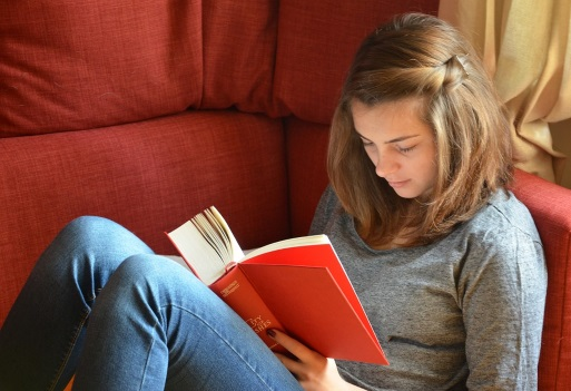 Want to beat stress? Curl up with a good book image