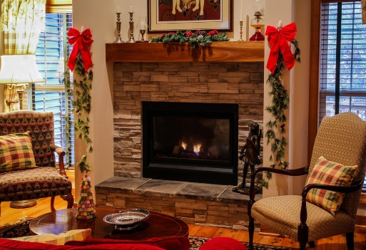 Make your fireplace the heart of your living room image