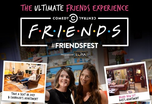 Relax in genuine La-Z-Boy comfort at this year's FriendsFest!